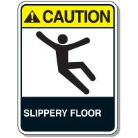 Slipping & Tripping Signs - Caution Slippery Floor