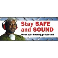Motivational Banners - Stay Safe And Sound