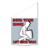 Motivational Pole Banners - Bend Your Knees