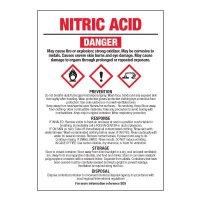 Nitric Acid - GHS Chemical Labels