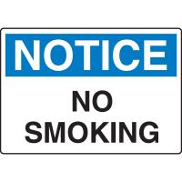 Notice Signs - No Smoking