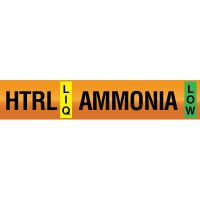 Opti-Code™ Ammonia Pipe Markers - High Temperature Recirculated Liquid