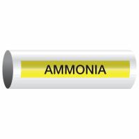 Opti-Code™ Self-Adhesive Pipe Markers - Ammonia
