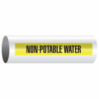 Opti-Code™ Self-Adhesive Pipe Markers - Non-Potable Water