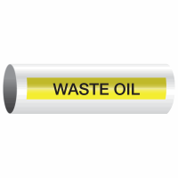 Opti-Code™ Self-Adhesive Pipe Markers - Waste Oil