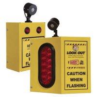 Overhead Forklift Door Monitor with Sensor