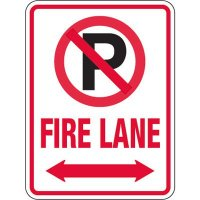 Pavement Message Signs - Fire Lane