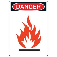 Pictogram Signs - Flammable Material