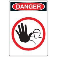 Pictogram Signs - No Entrance
