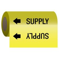 Self-Adhesive Pipe Markers-On-A-Roll - Supply