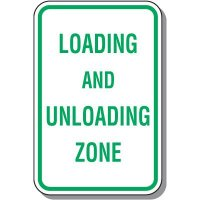 Property Parking Signs - Loading And Unloading Zone