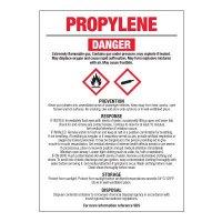 Propylene - GHS Chemical Labels
