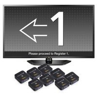 Qtrac® Queue Management System, 8 Stations