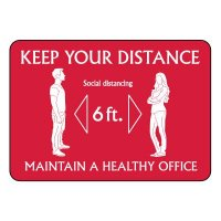 Social Distancing Signs for Offices - Keep Your Distance