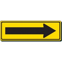 Reflective Traffic Signs - Single Right Arrow