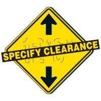 Reflective Warning Signs