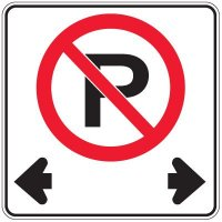 Regulation Traffic Signs - No Parking