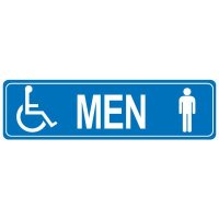 Restroom Signs - Men Handicap