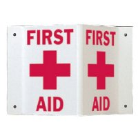 Rigid High Visibility Signs - First Aid