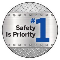 Safety Hard Hat Labels - Safety Is Priority #1