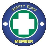 Safety Hard Hat Labels - Safety Team Member