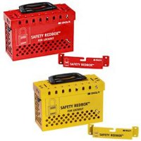 SAFETY REDBOX® Group Lockout Box