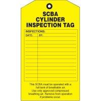 SCBA Maintenance Tags