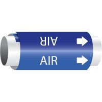 Setmark® Snap-Around Pipe Markers - Air
