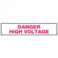 Seton Sign Value Packs For Electrical Marking - Danger High Voltage