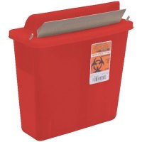 Sharps Container with Mailbox Lid