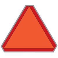 Slow Moving Vehicle Sign
