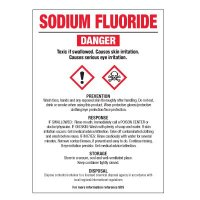 Sodium Fluoride - GHS Chemical Labels