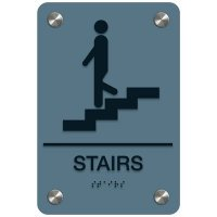 Stairs - Premium ADA Facility Signs