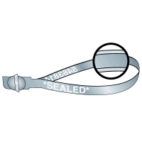 Rolled Edge Style Stock Metal Ball Seals - SEALED