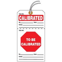 Tear-Off QC Action Tags - Calibrated To Be Calibrated