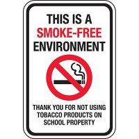 This Is A Smoke-Free Environment Sign