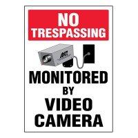 Ultra-Stick Signs - No Trespassing