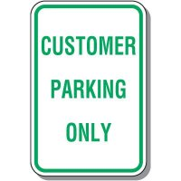 Visitor Parking Signs - Customer Parking Only