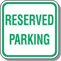 Visitor Parking Signs - Reserved Parking