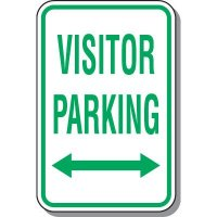 Visitor Parking Signs - Visitor Parking (Double Arrow)
