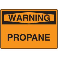 Warning Signs -Warning Propane