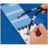 "Write-On Self Lam Wire Markers 1"" X 6"""