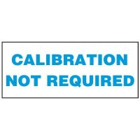 Write-On Status Roll Labels - Calibration Not Required