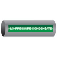 Xtreme-Code™ Self-Adhesive High Temperature Pipe Markers - Lo-Pressure Condensate