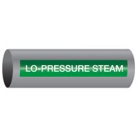 Xtreme-Code™ Self-Adhesive High Temperature Pipe Markers - Lo-Pressure Steam