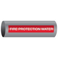 Xtreme-Code™ Self-Adhesive High Temperature Pipe Markers - Fire Protection Water