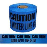 Underground Warning Tape - Caution Buried Water Line Below