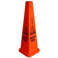 Safety Traffic Cones- Caution Safety First