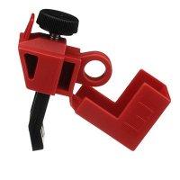 120/277V Red Circuit Breaker Lockout by Brady (65396)