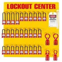 Zing® RecycLockout Lockout Station, 28 Padlocks